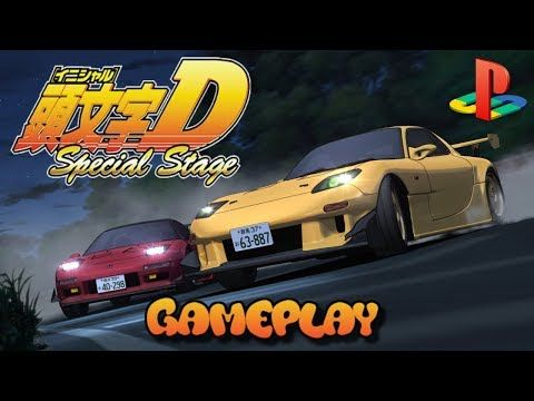 Initial D Special Stage Ps2 - gameplay - Jacobo García - Interfaz coleccionista - YouTube