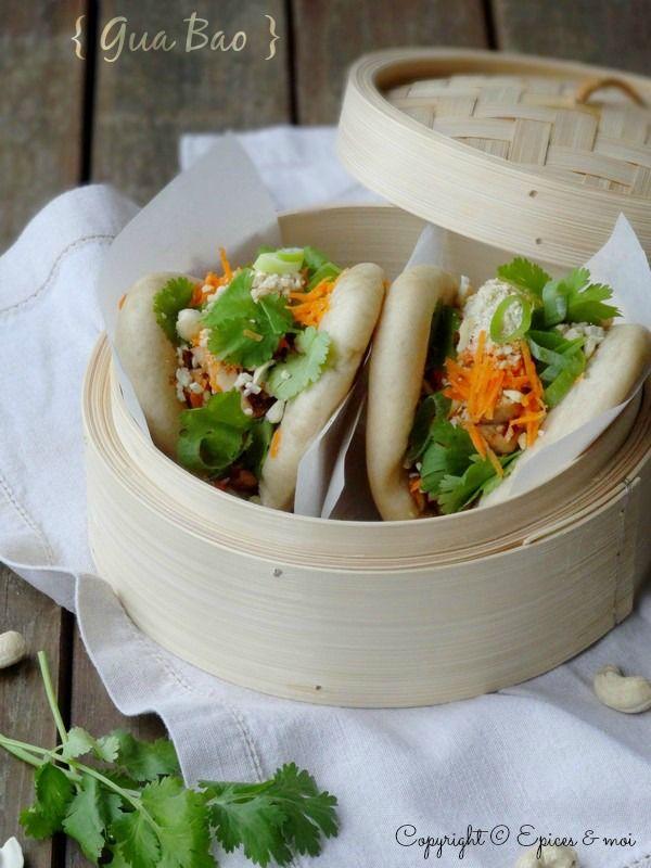 Gua bao garni de tofu � la citronnelle, coriandre et cajou ? Foodista Challenge
