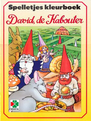Kleurboek David, de Kabouter