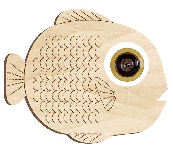 Décor poisson pour œilleton de porte / fish — Cocobohème