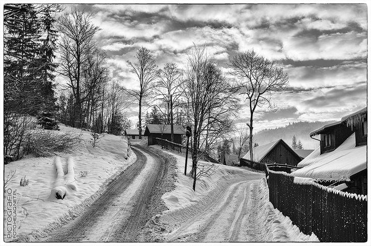 Pictografio: Winter in Silesian Beskids #1