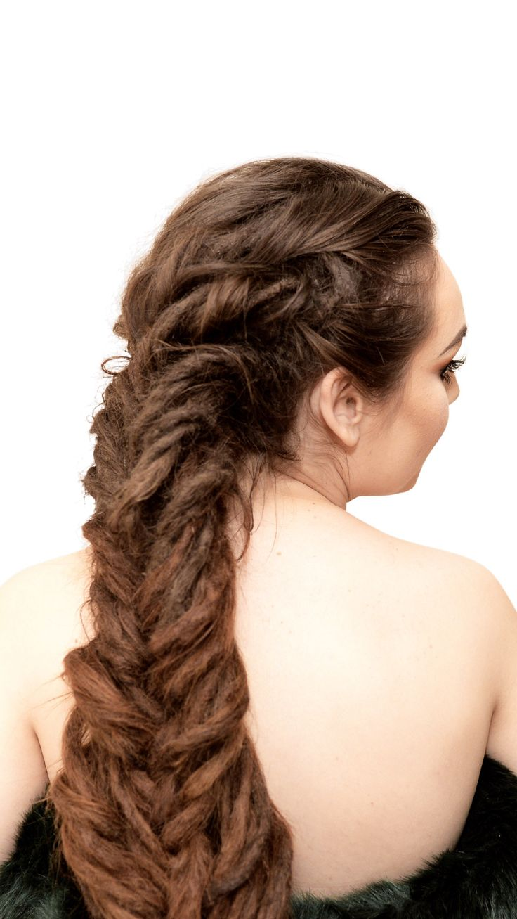Do you want to learn how to make this dreadlock braid?