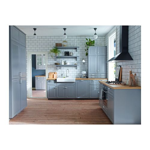 Ikea Kitchen Bodbyn Grey: Somehow This Ikea Kitchen Design Does Not Repulse Me. I