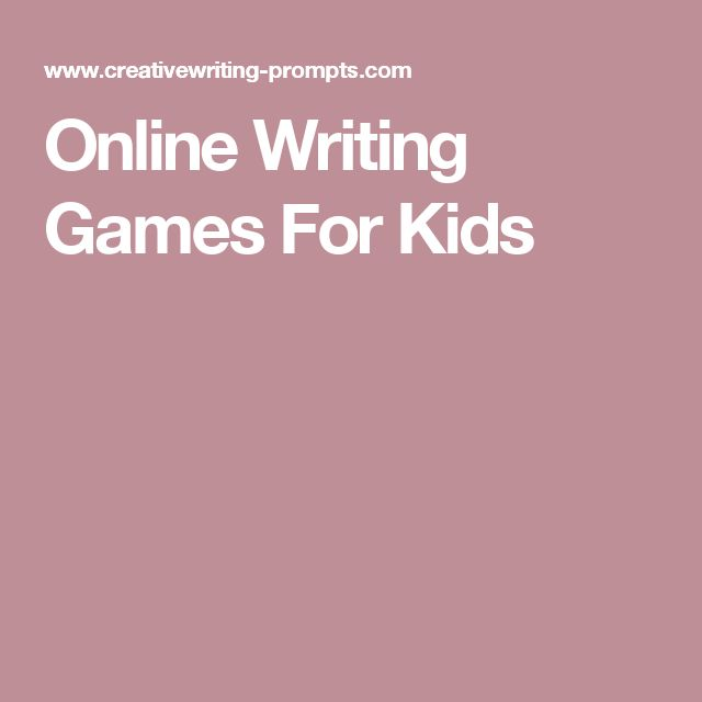 Online writing activities