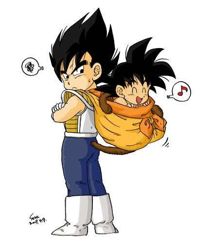 Kid Vegeta And BabyGoku #fanfiction #dbz #anime