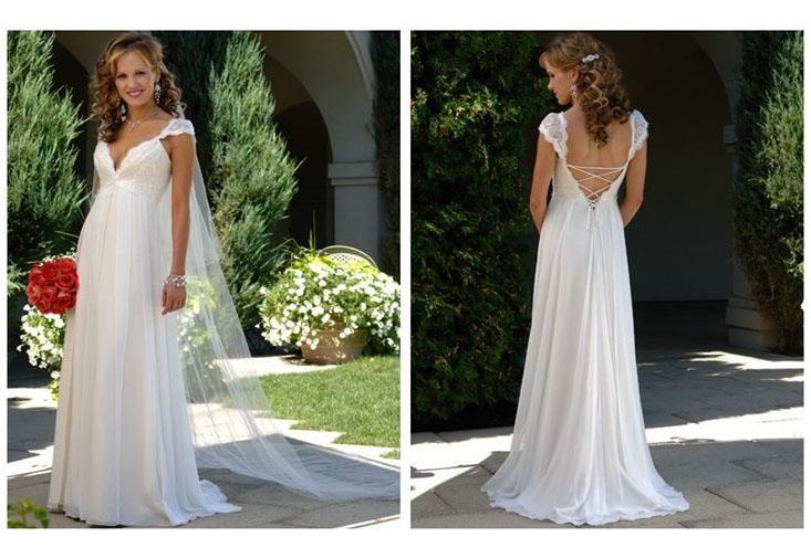 Свадебное платье для будующей мамы