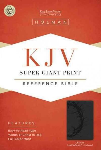 Holy Bible: King James Version, Super Giant Print Reference