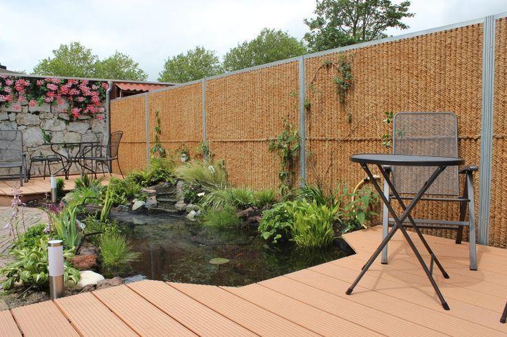 Kokosystems - Kokowall en KokoHusk tuinschermen en schuttingen. Natuurlijke en begroeibare tuinhekken