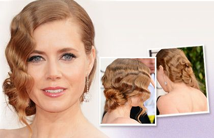 roaring 20s hairstyles for long hair | Hairstyle of the Month: Amy Adams' Finger Waves