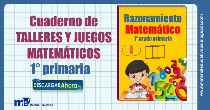 Cuaderno+de+talleres+y+juegos++matemáticos+matemático+1°+grado+primaria
