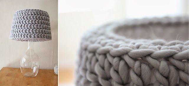 Only Handmade loves : DIY: lampenkap haken voor Ikea lampje