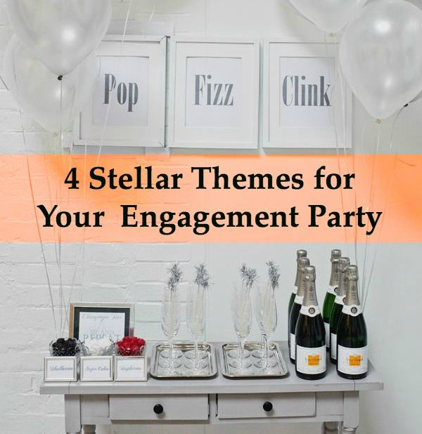 I can't wait to host my engagement party and these ideas are just what I was looking for