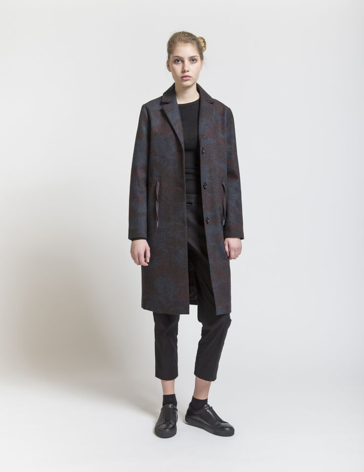 Selfhood - womensfashion outfit. Polyester/viscose/wool jacket with string.