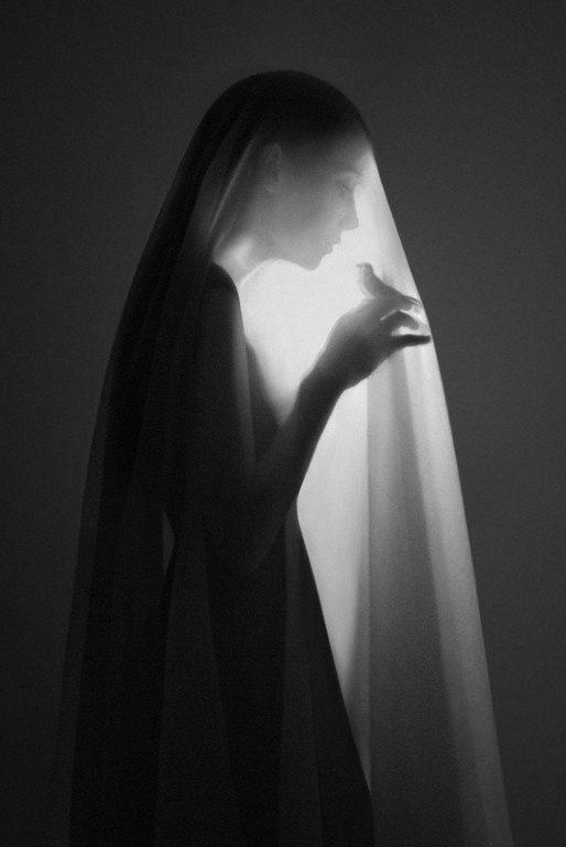 Cage by Noell S. Oszvald. Black + white portrait photography. Repinned from Vital Outburst clothing vitaloutburst.com