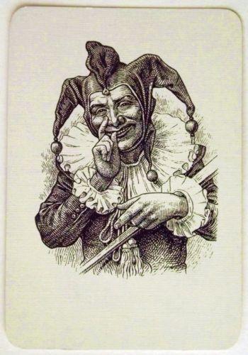 Joker Playing Card RARE 027 | eBay