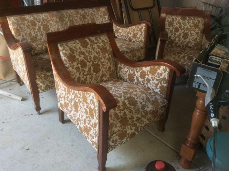 Federation Blackwood Lounge Suite Antiques Gumtree Australia