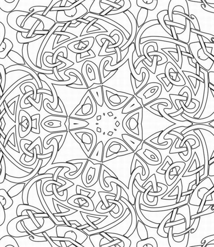 adult coloring book pages - Printable Coloring Book Pages 2