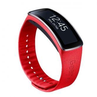 Wyraź siebie dzięki oryginej wymiennej bransoletce do Galaxy Gear Fit. Opaski możesz wymieniać w zależności od nastroju i okazji.  Produkt w kolorze czerwonym