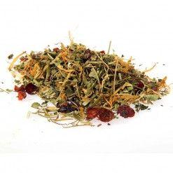 loose leaf herbal tea BE QUITE taste3tea.com