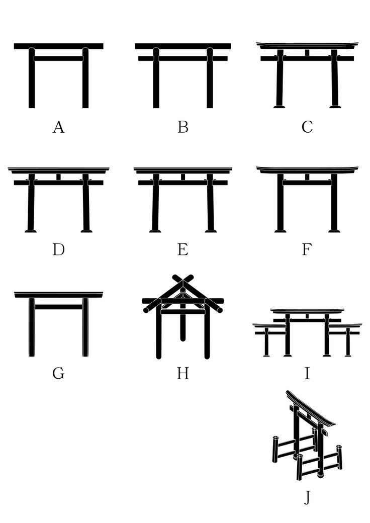 File:Torii gate variation 2.svg
