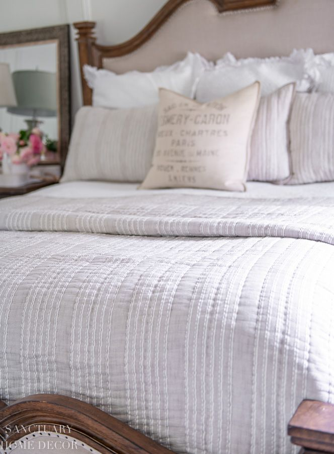 A Simple and Affordable Bedroom Refresh   Target bedding ...