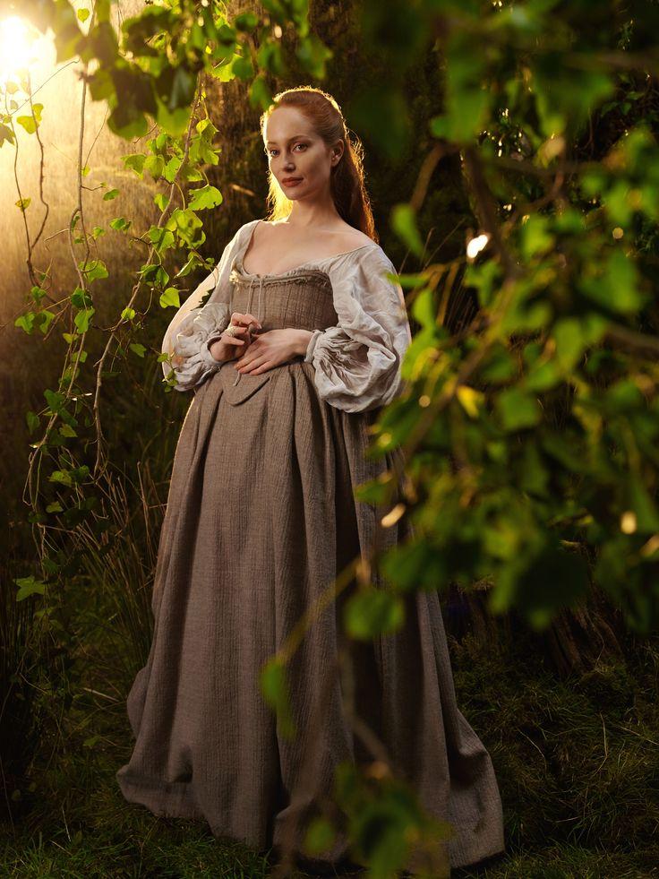 "Outlander S1 Lotte Verbeek as ""Geillis Duncan/Gillian Edgars"""