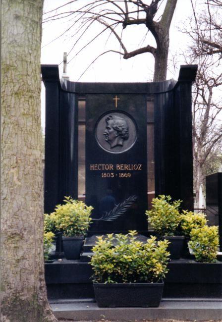 Tombes célèbres - Hector Berlioz