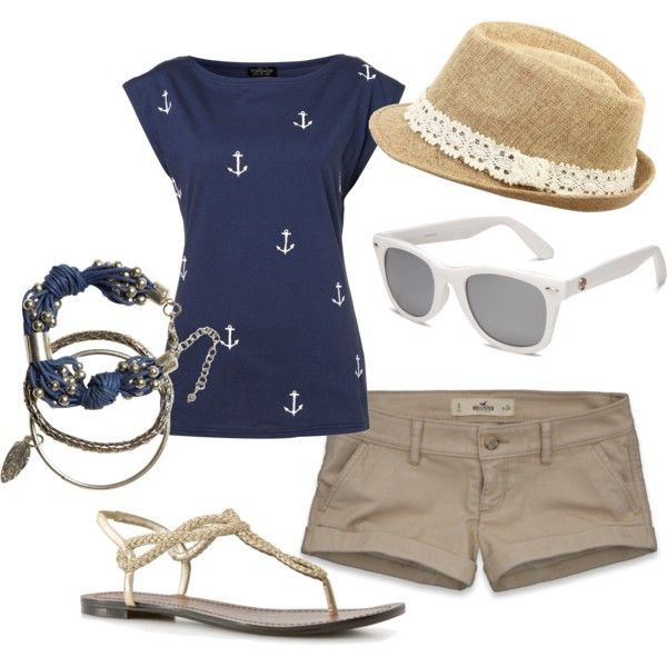 perfect casual outfit for a cruise