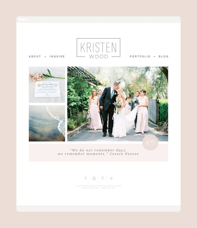 Kristen Wood | Website by Rowan Made