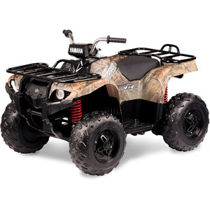 Yamaha grizzly 24 volt battery powered ride on camo for Yamaha 700r raptor battery