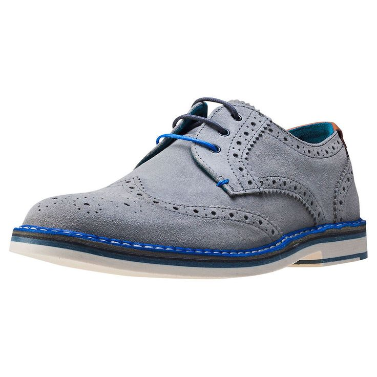 Ted Baker Reith 2 Mens Brogues Light Grey New Shoes
