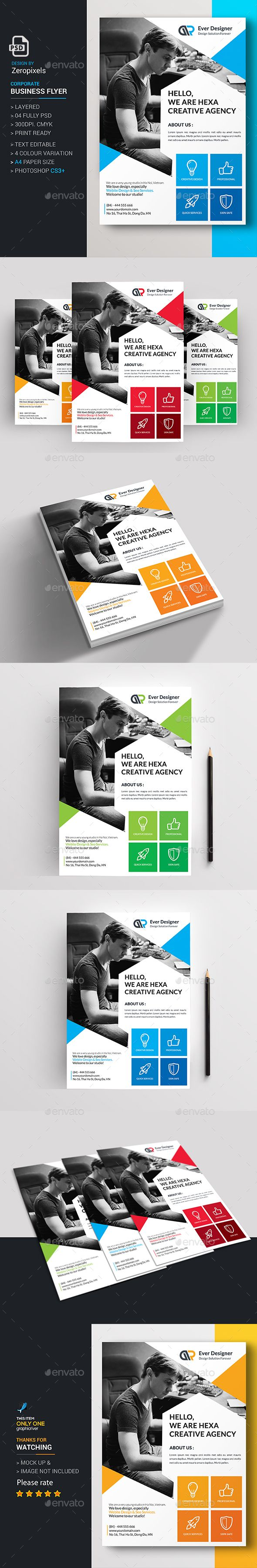 Flyer Template PSD. Download here…