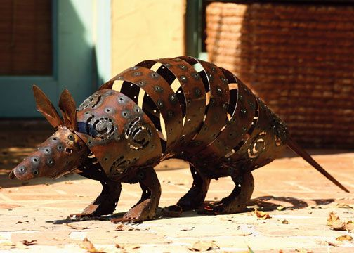 Recycled Garden Armadillo $115.00. Recycled GardenRecycled Metal ArtAnimal  ...
