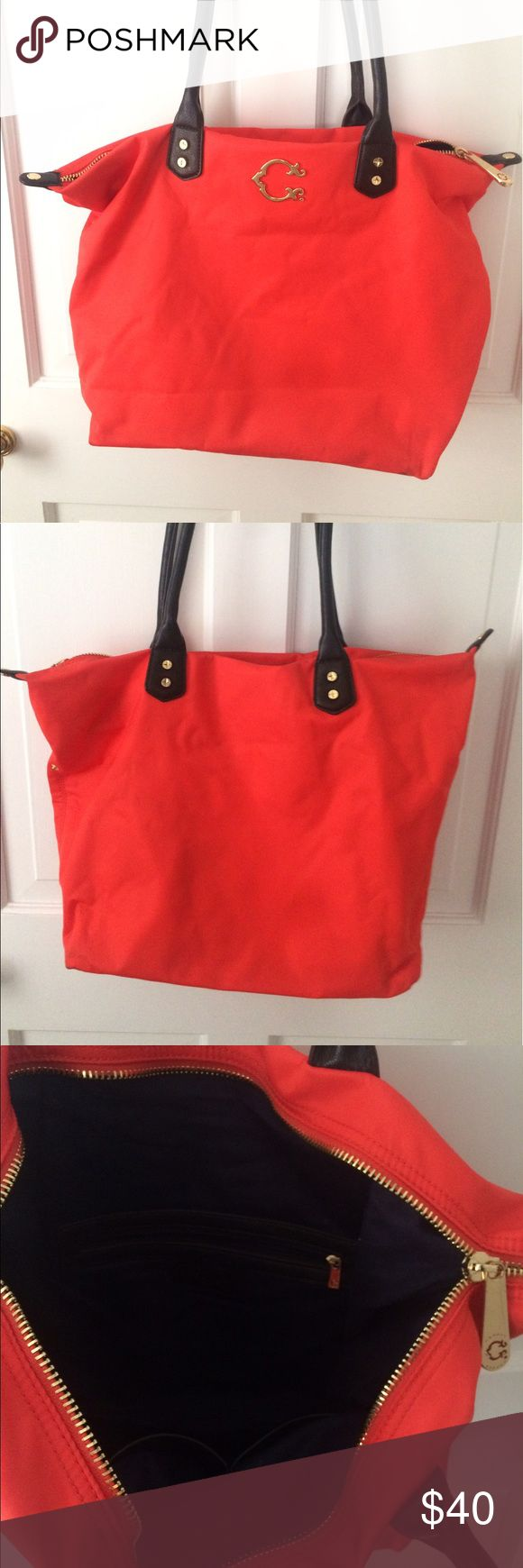Cwonder orange bag Medium Size C Wonder over the shoulder purse. New never used c wonder Bags Shoulder Bags