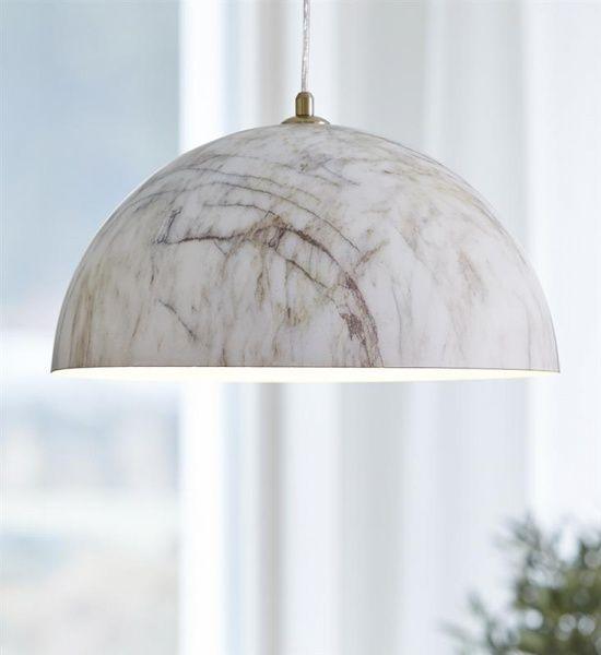 Rock lampe marmor