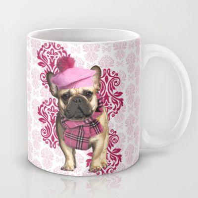 Dog Chic tshirt on sale on Society6.com/VanyNany. #design #dog #dandy #cute #bulldog #hat #papillon #monocolus #cane #chic #gentleman #raffinato #geek #funny #cool #fashion #suite #pink #girl #madame #girly #Mug #taza #fashion