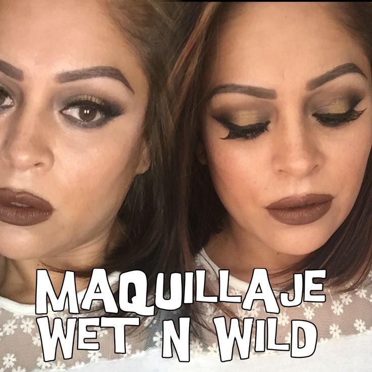 Maquillaje con Quinteto Sombras Wet N Wild Makeup Wet N Wild - YouTube