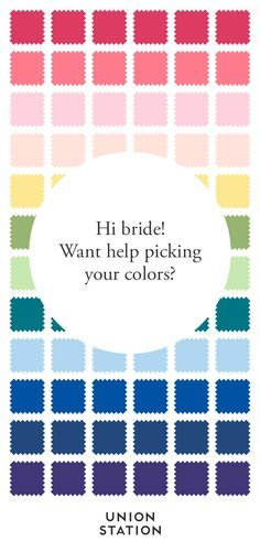 Let us help! We'll send you free fabric swatches so you can see our shades in person. With 10 gorgeous styles in 18 colors, you are sure to find the perfect bridesmaid dress. Union Station: Bridesmaid dresses you can rent or buy.
