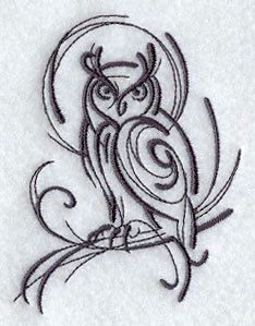 I literally have been looking for an owl like this for awhile! I want it tattooed by my collarbone.