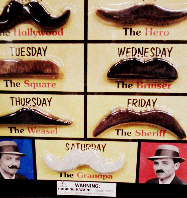 a mustache for every day of the week: Moustache, Things Mustache, Mad A Mustache, Gentlemen S Quarters, Mustache Quod, Smile, Mustache Styles