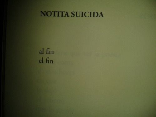 Nota suicida