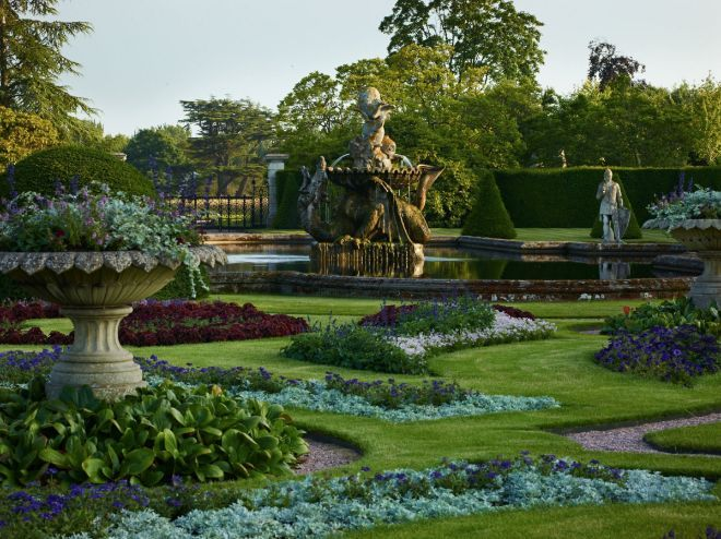 Eaton Hall's garden completes its 24-year-long restoration project