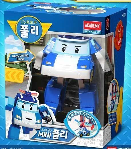 Robocar Poli Transforming Mini 3inch [Poli](83046) Academy model