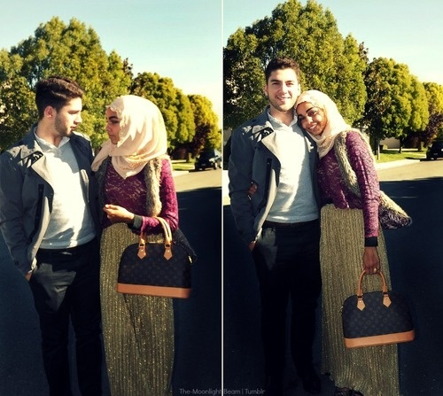You know your dating a muslim girl when
