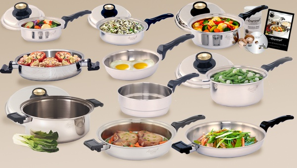 17 best images about healthy cooking on pinterest for Kitchen craft waterless cookware