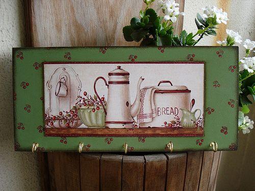 Claviculário (porta-chaves) Tea 4 Two