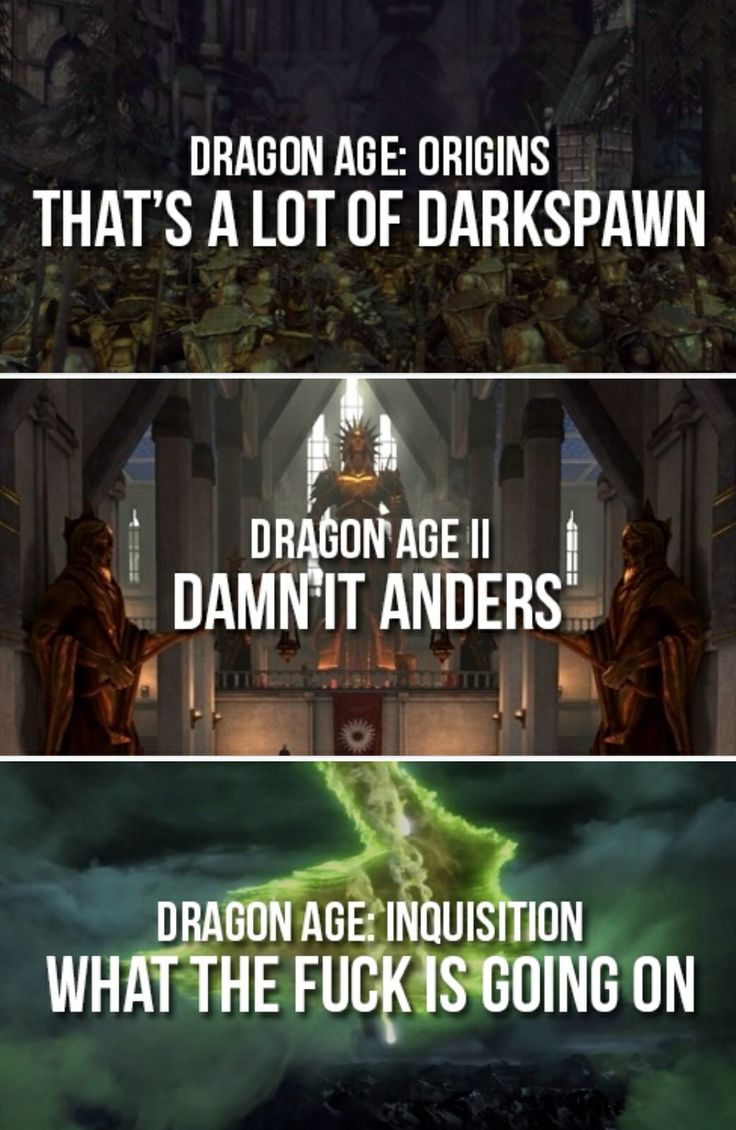 Image result for dragon age meme damn it anders