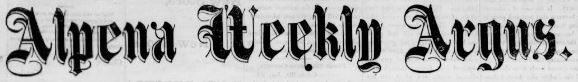 Alpena Weekly Argus (1871-1893), found in our portal.