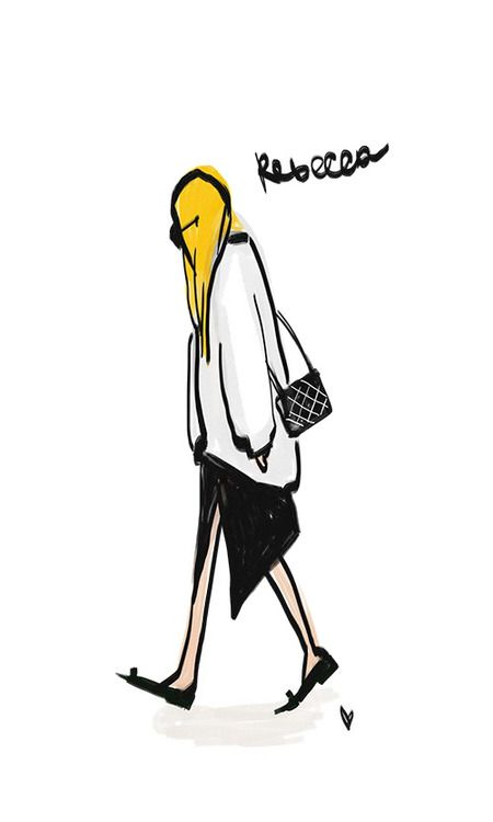 @raspberrynrouge illustration by strunevskaya anastasia for comifashion blog