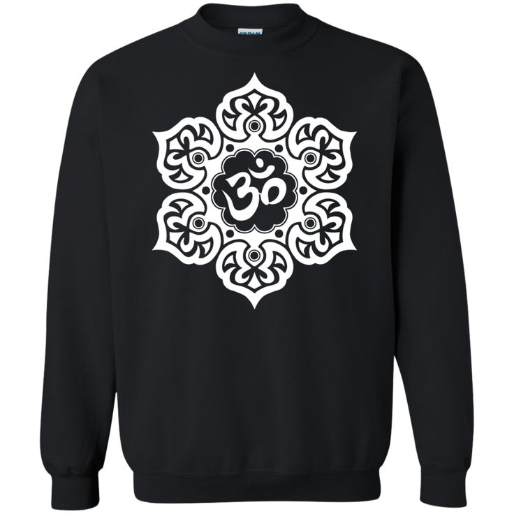 White Lotus Flower Yoga Om Tank Tops & T-Shirt